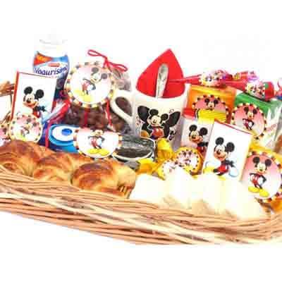 Desayunos Infantiles a Domicilio |   Desayunos Especiales para Niños | Desayuno Mickey - Cod:NOS13