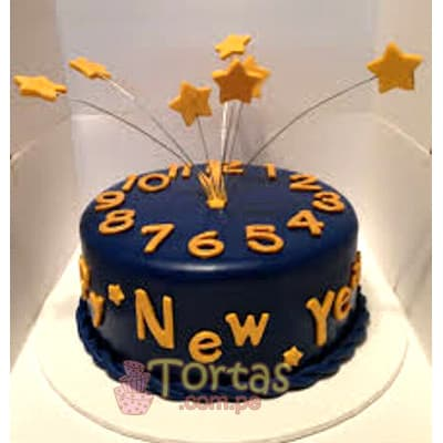 Desayunosperu.com - Torta Nuevo 01 - Codigo:NYR01 - Detalles: Delicioso keke De Vainilla ba�ado con manjar blanco y forrado con masa elastica.  Incluye decoracion segun imagen Tama�o: 20cm de diametro   - - Para mayores informes llamenos al Telf: 225-5120 o 476-0753.