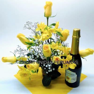 Arreglo de Rosas por Fin de año - Whatsapp: 980-660044