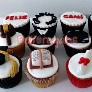Cupcakes Graduacion - Whatsapp: 980-660044
