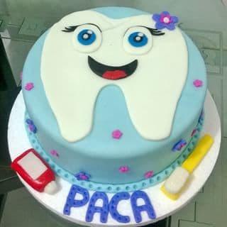 Torta de Diente | Odontología | Pastel de dentista | Pastel dentista - Cod:OLG05