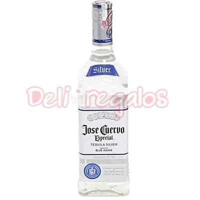 Deliregalos.com - Tequila - Cuervo Silver OFERTA - Codigo:OTR01 - Detalles: Tequila Jose Cuervo x 750ml Edicion Especial Silver.  - - Para mayores informes llamenos al Telf: 225-5120 o 476-0753.