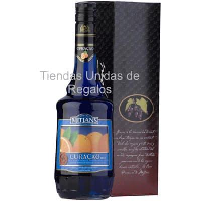 Deliregalos.com - Blue Curacao Mitjans OFERTA - Codigo:OTR02 - Detalles: Blue Curacao Mitjans, licor especial de Naranaja ideal para regalo, botella de 750ml y 25% de alcohol. - - Para mayores informes llamenos al Telf: 225-5120 o 476-0753.