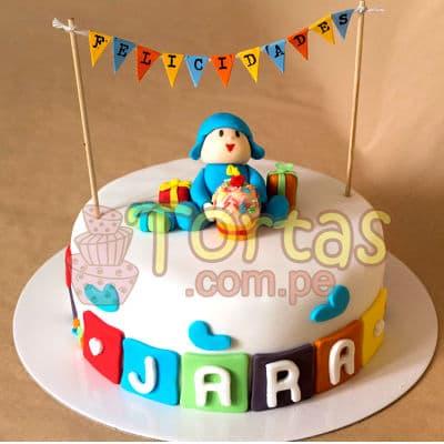 Tortas Pocoyo | Torta de Pocoyo - Whatsapp: 980-660044
