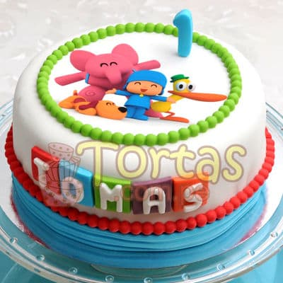 Tortas de pocoyo | Torta de Pocoyo - Whatsapp: 980-660044