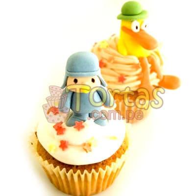 Muffins Pocoyo 07 | Torta de Pocoyo - Whatsapp: 980-660044
