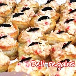 Bocaditos para Oficina con  Petit Panes con Pollo y Gaseosa - Cod:PIC05
