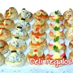 Bocaditos por cumpleaños y Gaseosa | Sandwichs Mixtos Delivery  - Cod:PIC06
