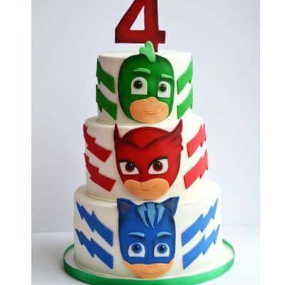PJ MASK 08 | Torta PJ Masks | Tortas de heroes en pijamas - Whatsapp: 980-660044