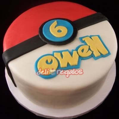 Torta Pokebola- Whatsapp: 980-660044