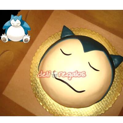 Grameco.com - Torta Snorlak - Codigo:PKG09 - Detalles: Deliciosa torta de keke De Vainilla ba�ada con manjar blanco y decorada con masa elastica. Medidas 20cm de diametro. Presente incluye dedicatoria.  - - Para mayores informes llamenos al Telf: 225-5120 o 476-0753.