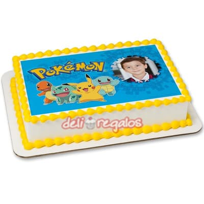 Foto Torta Pokemon - Whatsapp: 980-660044