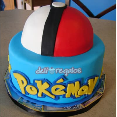 Torta Pokebola Pokemon | Tortas de Pokemon - Cod:PKG12