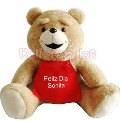 Gran Oso Personalizado | Peluches Delivery | Peluches Delivery Lima - Cod:PLH02