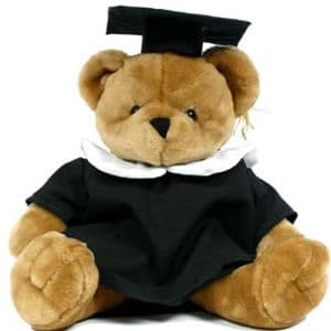 Peluche Graduado | Peluches Delivery | Peluches Delivery Lima - Cod:PLH04