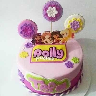 Torta Polly pocket 02 | Polly Pocket Torta De Cumpleaños - Cod:PLL02