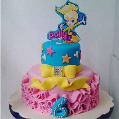 Torta Polly pocket 03 | Polly Pocket Torta De Cumpleaños - Cod:PLL03