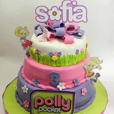 Torta Polly pocket 04 | Polly Pocket Torta De Cumpleaños - Cod:PLL04