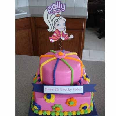Torta Polly pocket 05 | Polly Pocket Torta De Cumpleaños - Cod:PLL05