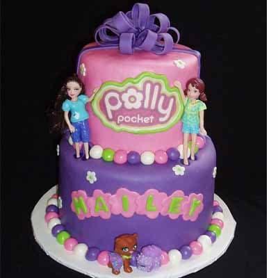 Torta Polly pocket 08 | Polly Pocket Torta De Cumpleaños - Cod:PLL08