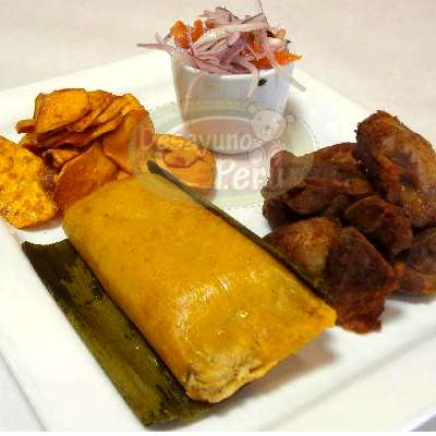 Chicharron y tamal- Whatsapp: 980-660044