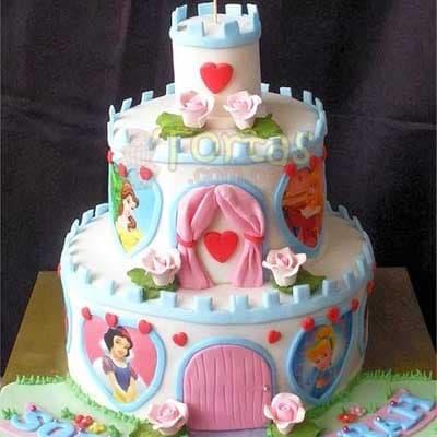 Torta de Princesas | Imágenes de Torta de Princesas - Cod:PRC01