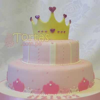 Torta de Princesas Disney | Imágenes de Torta de Princesas - Cod:PRC05