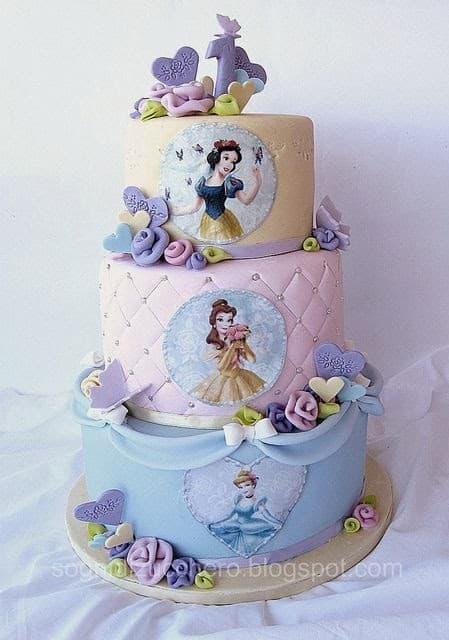 Torta para Princesa | Imágenes de Torta de Princesas - Cod:PRC10
