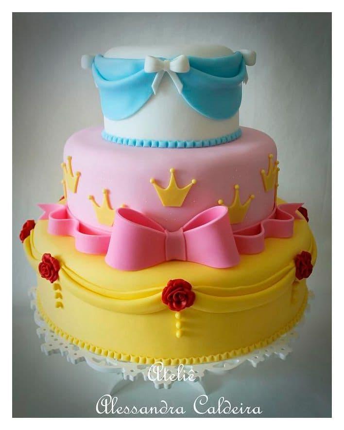 Pastel de Princesas | Imágenes de Torta de Princesas - Whatsapp: 980-660044