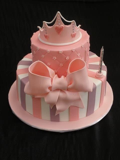 Pastel para Princesas | Imágenes de Torta de Princesas - Cod:PRC12