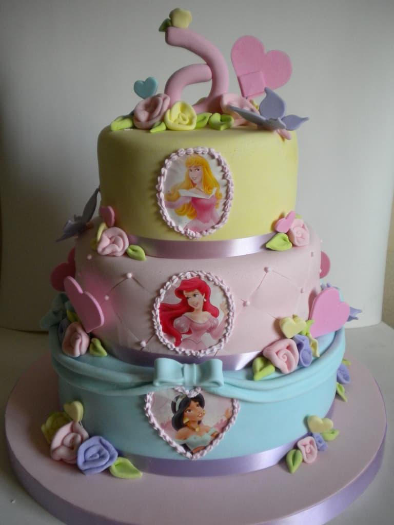Pastel Princesas Disney | Imágenes de Torta de Princesas - Whatsapp: 980-660044