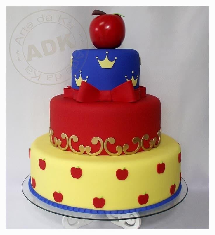 Pastel para Princesa niña | Imágenes de Torta de Princesas - Cod:PRC16
