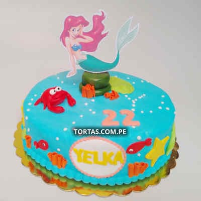 Pastel de Princesas Disney - Cod:PRC17