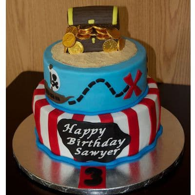Tortas Piratas | Tortas de Piratas para Fiestas Infantiles - Whatsapp: 980-660044