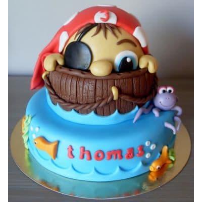 PIRATA 14 | Tortas de Piratas para Fiestas Infantiles - Whatsapp: 980-660044