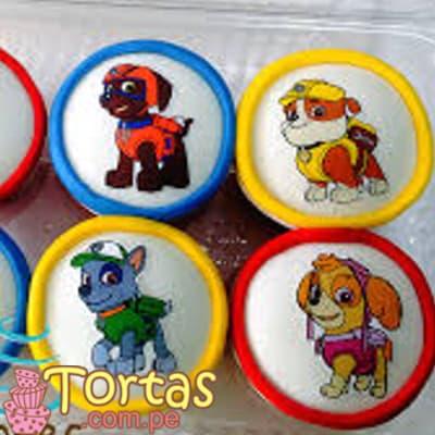 Paw Patrol Tortas | Cupcakes del tema Paw Patrol  - Whatsapp: 980-660044