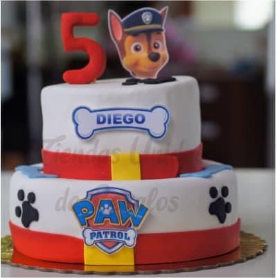 Torta Chase de Paw Patrol  - Cod:PWP20