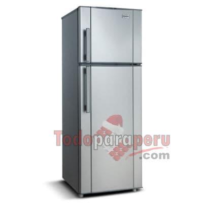 Refrigeradora Miray - Codigo:QAL02 - Detalles: General ColorPlomo/Blanco segun disponibilidad Garant�a12 meses Patas ajustablesSi Peso39 Kg. Voltaje220V-60Hz.  Almacenamiento Capacidad240 L  Conveniencia Puerta02  Refrigeraci�n Control de temperaturaPerilla Sistema de EnfriamientoEuro Frio  - - Para mayores informes llamenos al Telf: 225-5120 o 980-660044.