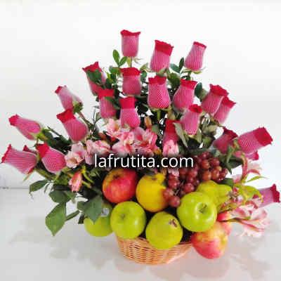 Frutero de Frutas de Estacion y Rosas - Cod:QFA03