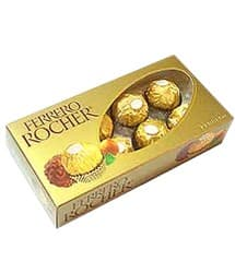 Chocolate Ferrero Rocher x 8 - Codigo:REG05 - Whatsapp: 980660044