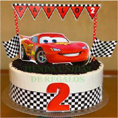 Torta Cars 02 - Whatsapp: 980-660044