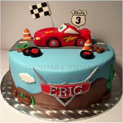 Torta Cars 04 - Whatsapp: 980-660044