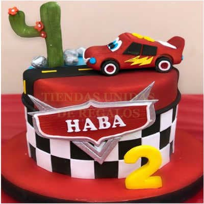 Torta Cars 05- Whatsapp: 980-660044