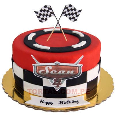 Torta Cars 06 - Whatsapp: 980-660044