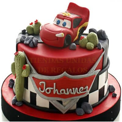Torta Cars 07- Whatsapp: 980-660044