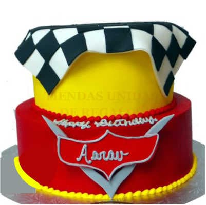Torta Cars 08 - Whatsapp: 980-660044