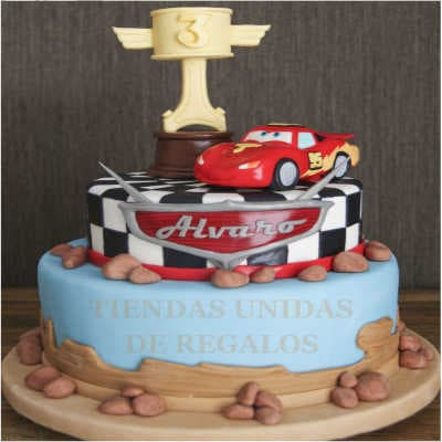 Torta Cars 09 - Whatsapp: 980-660044