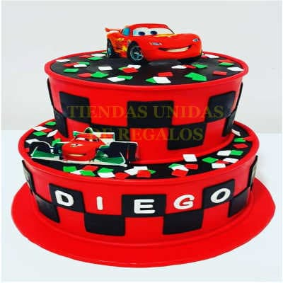 Torta Cars 10- Whatsapp: 980-660044