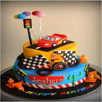 Torta Cars 11 - Whatsapp: 980-660044