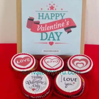Cupcakes San Valentin | Claudia Cupcakes  - Cod:SDV04